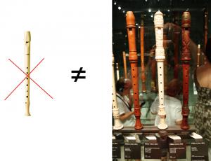 flauta escolar siglo xviii