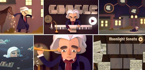 Doodle Beethoven