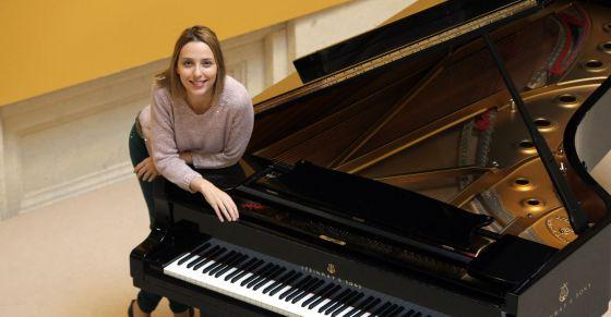 Judith en piano