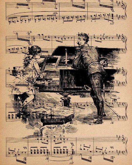 «All of Me», «Whatever» y «Será»: partituras para piano