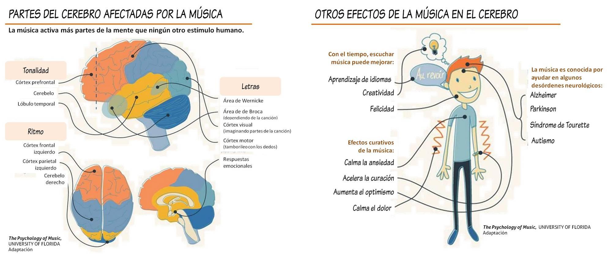 Música cerebro