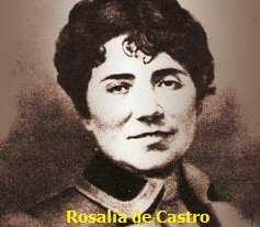 Homenaje a Rosalía de Castro en el aniversario de su nacimiento