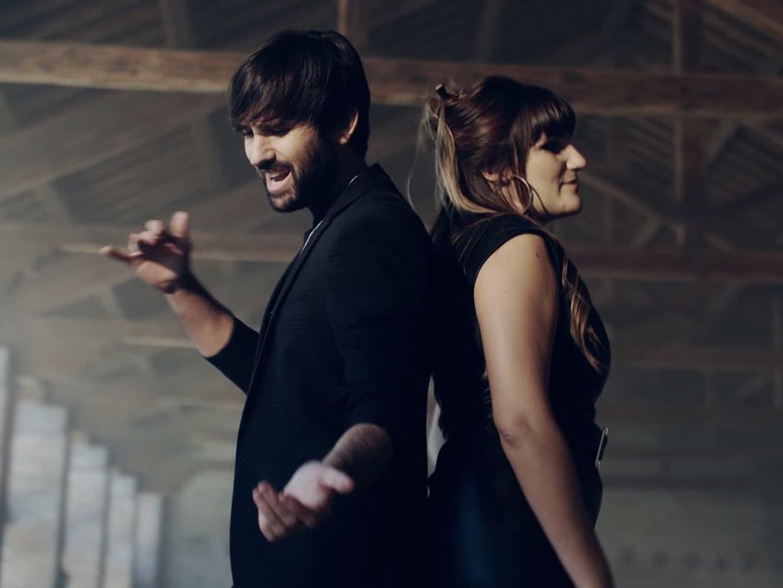 Baile Rozalén y David Otero