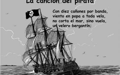 «La canción del pirata»: aunamos literatura y música