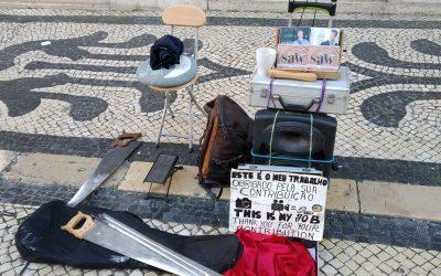 Músicos e instrumentos en Lisboa que te sorprenderán