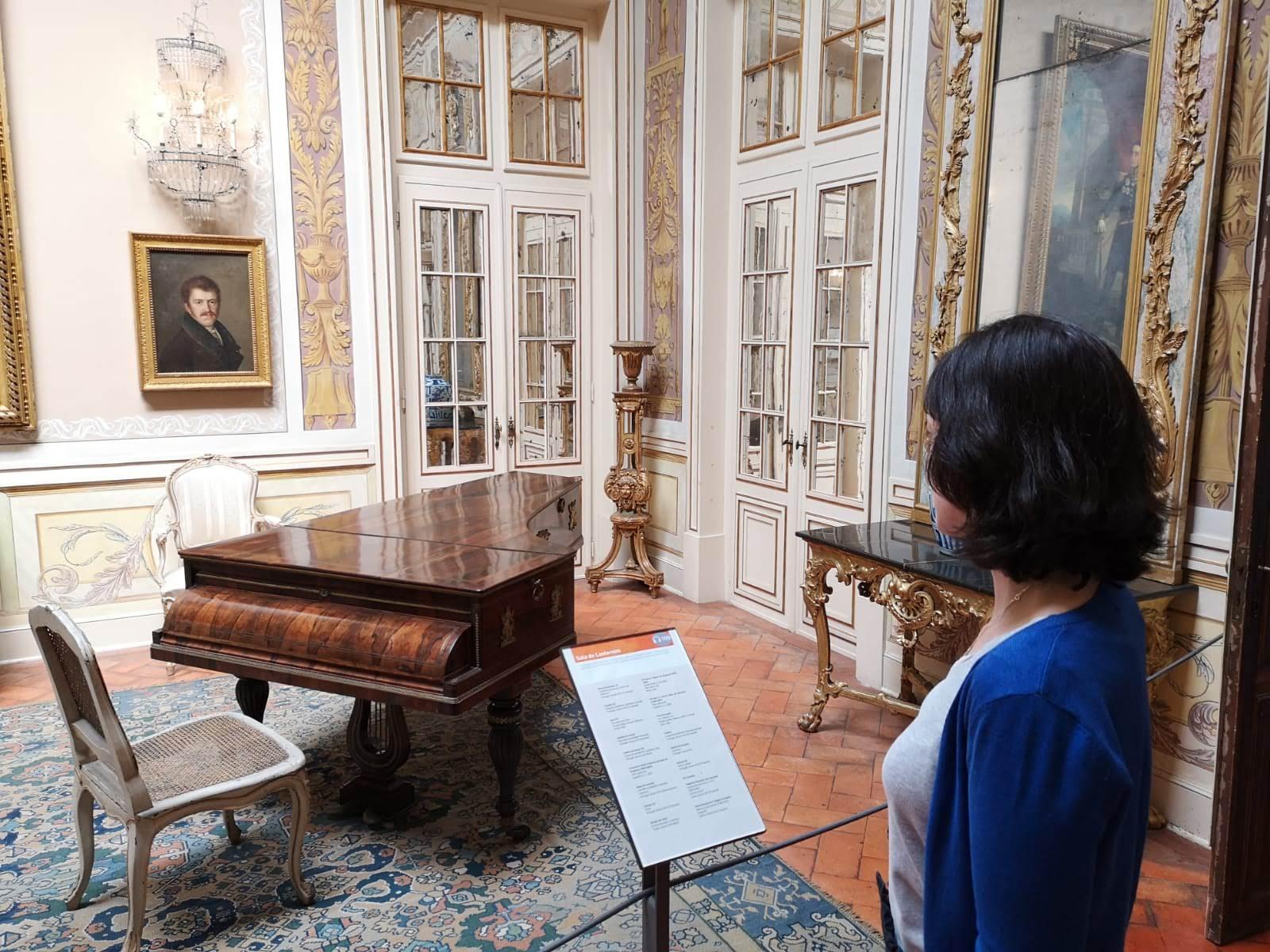 Sala de la linterna Musiqueando con María