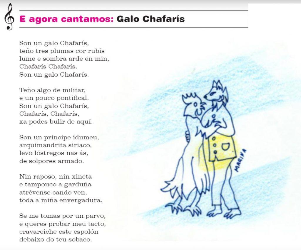 Canción Galo Chafarís Ricardo Carvalho