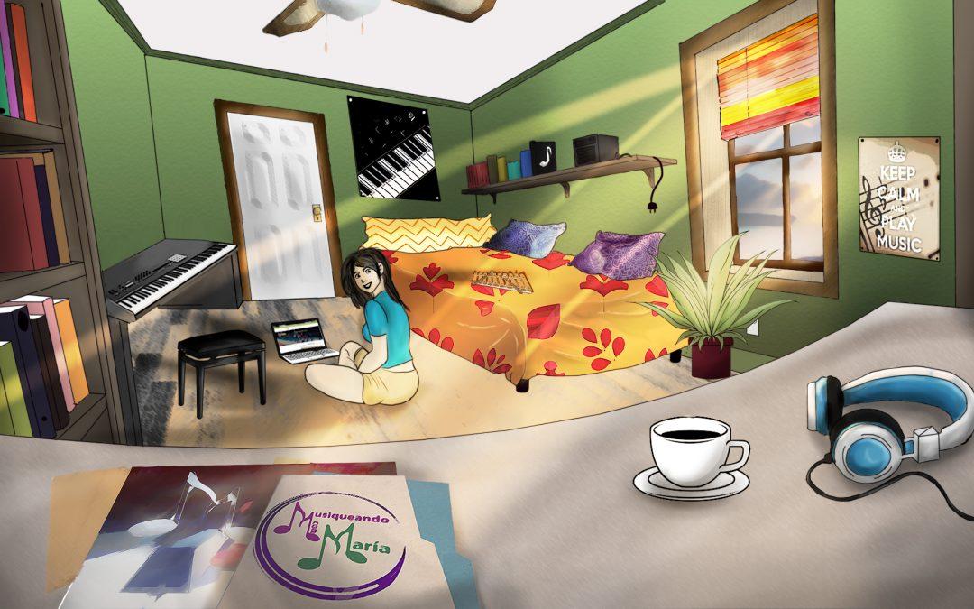 Nueva imagen de mi proyecto personal «Musiqueando con María»