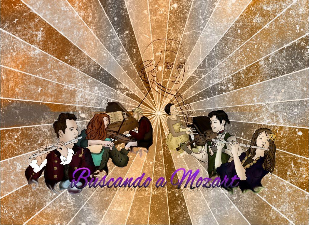Imagen caja Buscando a Mozart
