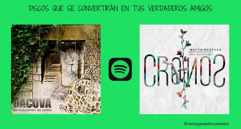 Discos de Spotify - Musiqueando con María